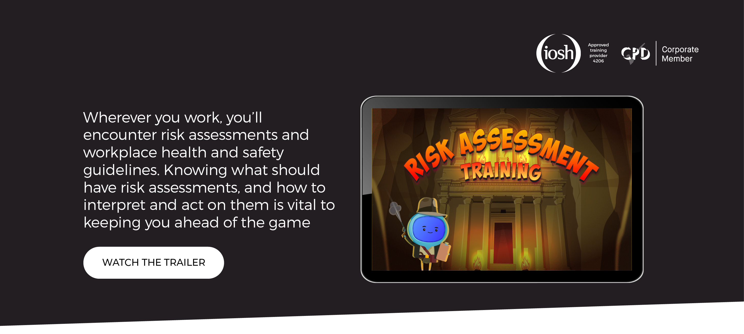 Banner - Risk Assesment Training - Landing Page